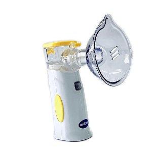 Inalador Air Mesh Colors com Bateria Amarelo - Medicate