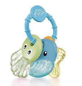 Mordedor Sea Friends 3+M Azul Multikids Baby
