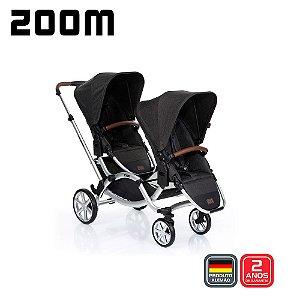 Carrinho de Bebê ABC Design - Zoom Piano Gêmeos