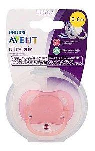 Chupeta Ultra Air 0-6m Lisa Menina SCF445/10 - Avent