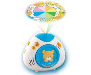 Brinquedo Projetor Teddy Canção de Ninar