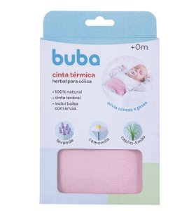 Cinta Térmica Herbal para Cólica Rosa - Buba