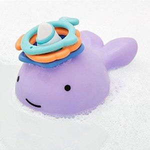 Brinquedo de Banho Interativo Argolas de Empilhar Zoo Baleia Narval - Skip Hop