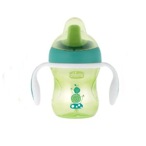 Copo Transition Cup 6M+ Verde - Chicco