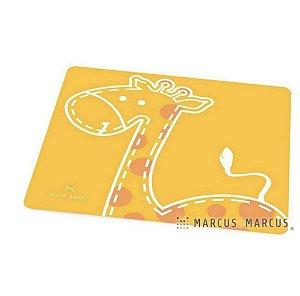 Jogo Americano em Silicone Girafa Amarelo - Marcus & Marcus