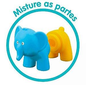 Amiguinhos do Banho com 3 animais intercambiáveis - Soft Baby - Yes Toys