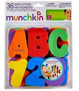 Letra e Número para banho - Munchkin