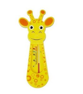 Termometro pars Banho Girafinha  Amarela- Buba