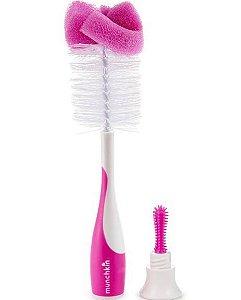 Escova de Mamadeira  Rosa