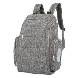 Mochila Backpack Cinza