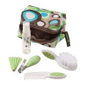 Kit de Higiene e Beleza Completo para o Bebê (10 peças) Verde - Safety 1st