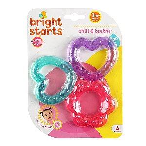 Mordedor com Água Chill & Teethe - Bright Starts