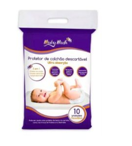 Protetor de Colchão Descartável 10 und Baby Bath