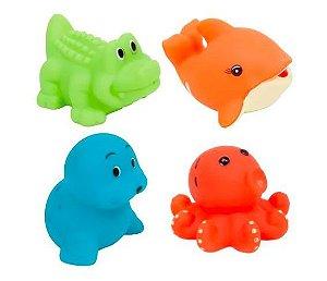 Bichinhos de Banho Animais Aquáticos - Buba