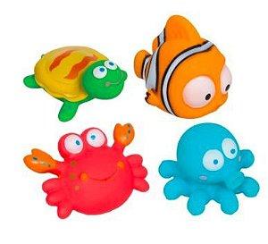 Bichinhos de Banho Animais Oceano- Buba