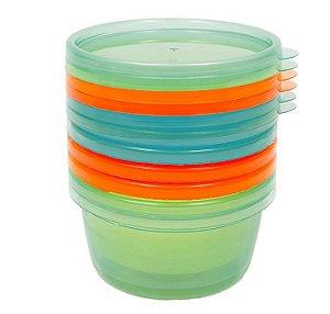 Kit de 6 Potes para Papinha Azul - Buba