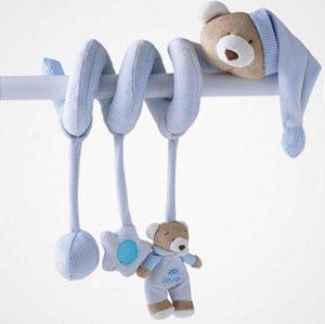 Espiral de Atividades  Urso Azul  Nino - Zip