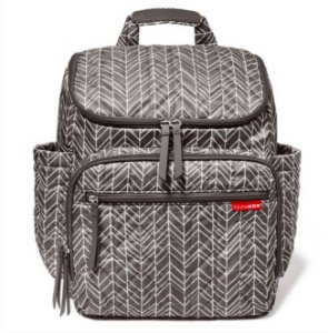 Bolsa Maternidade Forma Backpack Grey Feather - Skip Hop