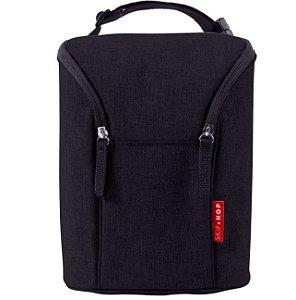 Bolsa Termica para Mamadeiras Double Bottle Bag Preta - Skip Hop