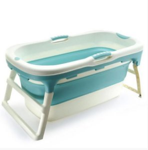 Banheira de Plástico Grande Azul - Baby Pil