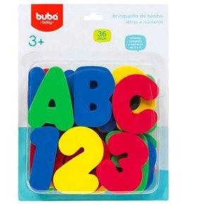 Brinquedos de Banho Letras e Numeros - Buba
