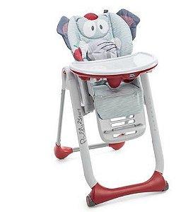 Cadeira de Papa Polly 2 Start Baby Elefante - Chicco
