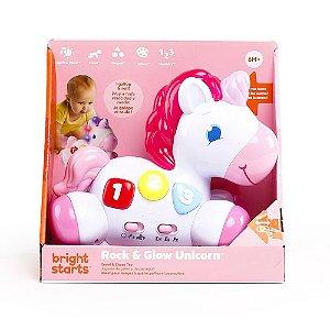 Brinquedo Unicornio Corredor Musical Rock & Glow - Bright Starts