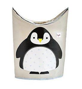 Cesto de Roupa Suja  Pinguin 3 Sprouts