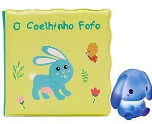 Kit Livrinho de Banho e Coelhinho - Buba