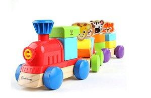 Baby Einstein Trenzinho Discovery Wooden Toy