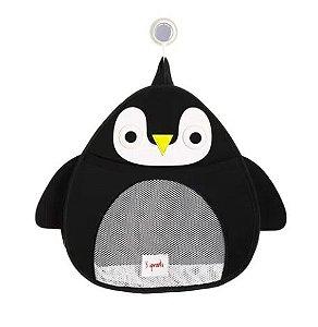 Organizador de Banho 3 Sprouts Pinguin