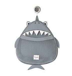 Organizador de Banho 3 Sprouts Tubarão