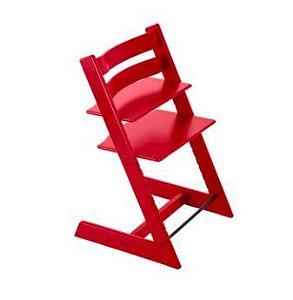 Cadeira Tripp e Trapp Vermelho Stokke