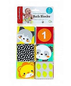 Brinquedos de Banho Blocos Coloridos - Infantino
