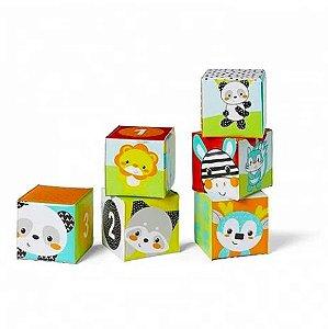 Brinquedos de Banho Blocos Coloridos