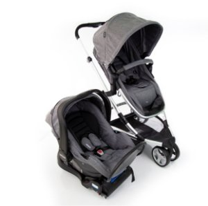 Travel System Sky TRIO Grey Classic com Base Isofix - Infanti