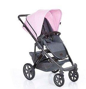 Carrinho de Bebê Salsa 4 com Moises Rose ABC Design