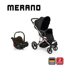 Carrinho de Bebê T System Merano Rose Gold - ABC Design