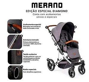 Carrinho de Bebê Travel System Merano Diamante- ABC Design