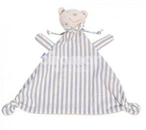 Naninha para Bebê Estampa Listrado Cinza - BIRAMAR