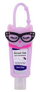 Álcool em Gel Hidratante 30 ML Holder Gatinha