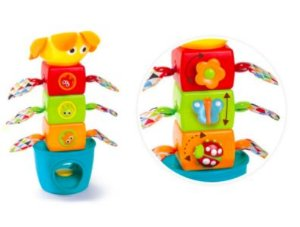 Brinquedo Educativo Empilha Blocos Divertido Stack Flap 'N' Tumble