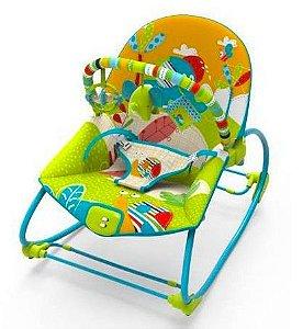 Cadeira de Balanço Musical Rocker Elefante Color - Mastela