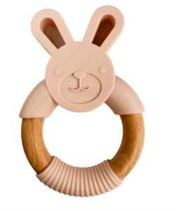 Mordedor Bunny Bunz - Rosa Bebê