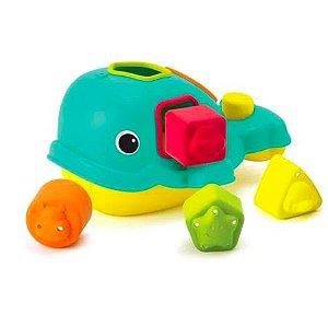 Brinquedo de Encaixe baleia Infantino
