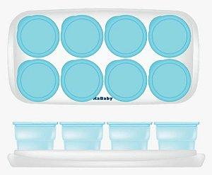 Kit 8 Porta Papinha Azul