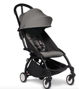 Babyzen - 2020 Yoyo2 6+ Stroller Black  - Color Pack Cinza