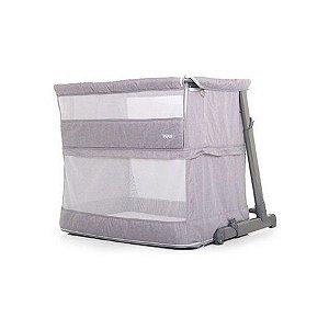 Berço Co-Bed  Portátil 3 em 1 Cinza - Dican