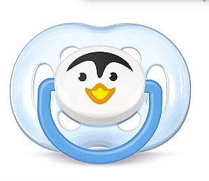 Chupeta Avent Pinguim 6 -18 Meses