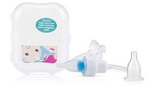 Aspirador Nasal com Filtro e Estojo Transparente - Nuby